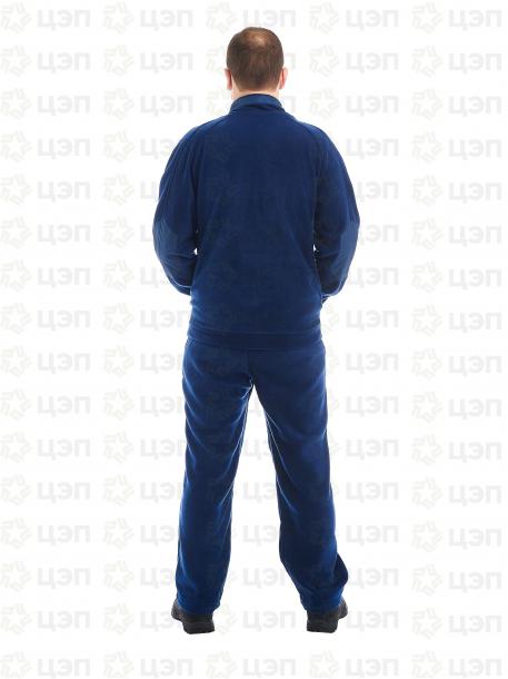 Куртка флисовая Актив темно-синяя