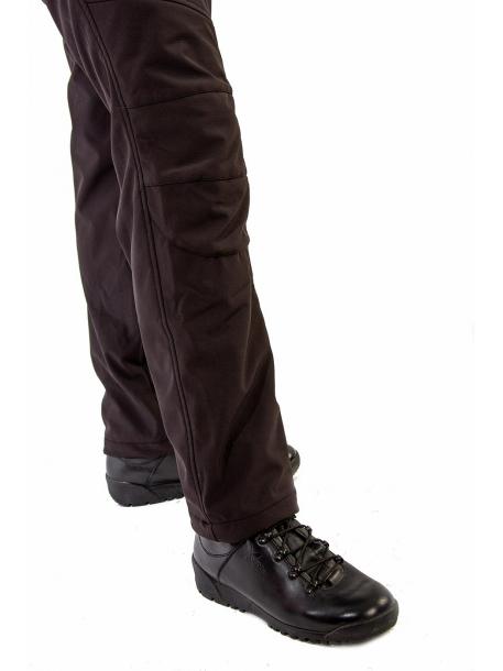 Bering (Беринг) брюки (софт-шелл, черный)