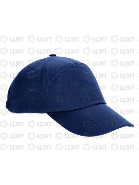 Бейсболка охранника 7-ка, тк. рип-стоп синяя