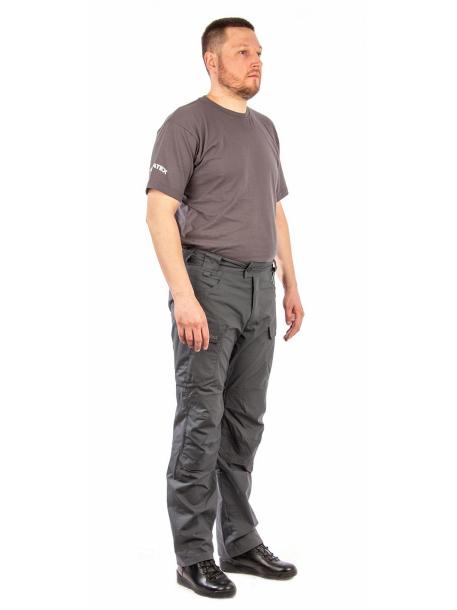 Брюки «Файтер» (смесовая, серый) 7.62