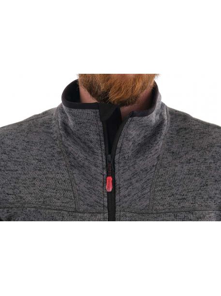Фьорд толстовка (вязанка, серый)