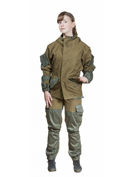 Горка-NT костюм (палатка хаки, 100% хлопок) детский