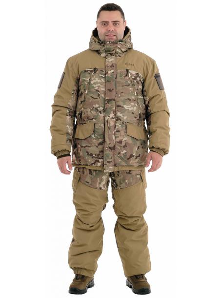 Горка-зима костюм (плащевая, мультиколор)