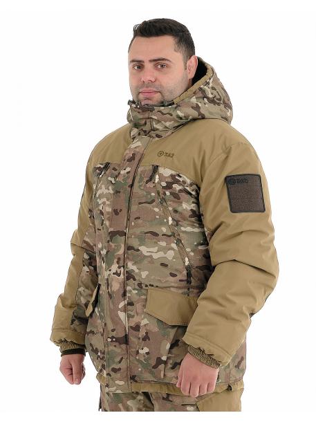 Горка-зима куртка (плащевая, мультиколор)