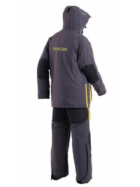 Камчатка 2020 костюм (таслан, серо-желтый)