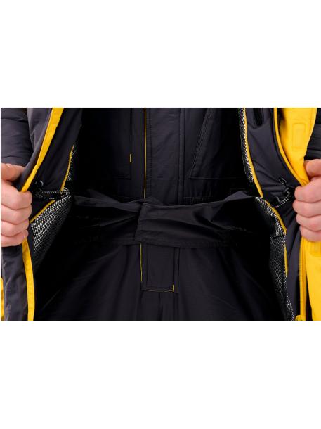 Камчатка костюм (таслан, серо-желтый)