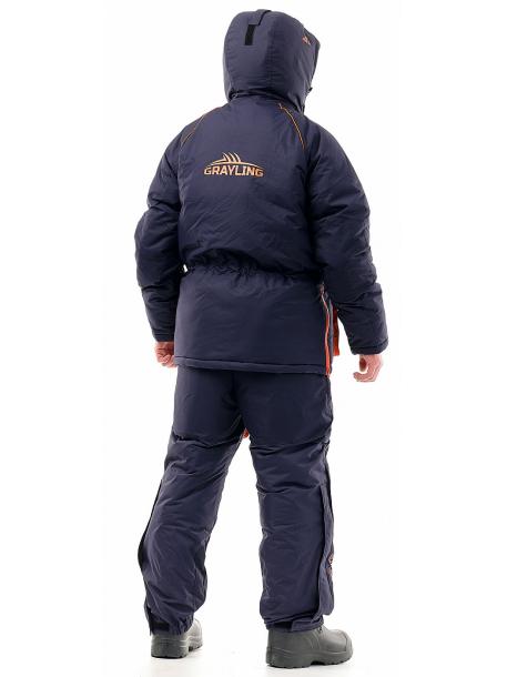 Камчатка костюм (таслан, синий-оранж)