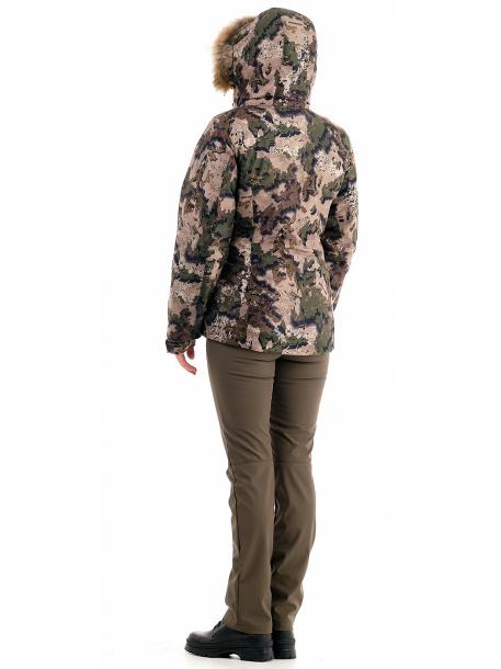 Кобра куртка женская (алова, кобра) с мехом