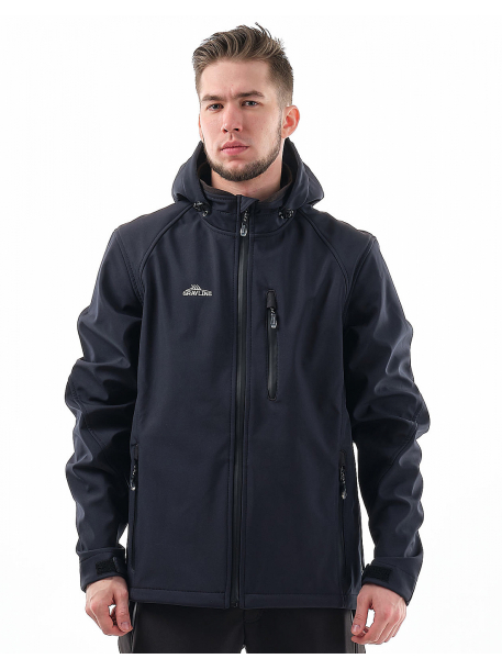 Лиман NEW куртка (софт-шелл, синий)