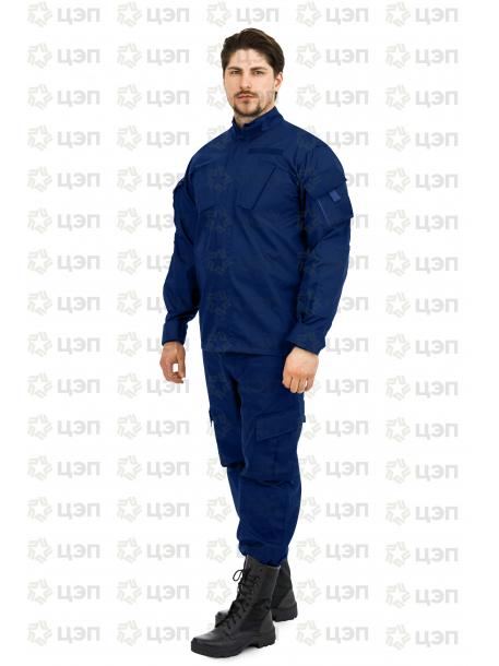 Костюм для охранника НАТО, тк. рип-стоп синий