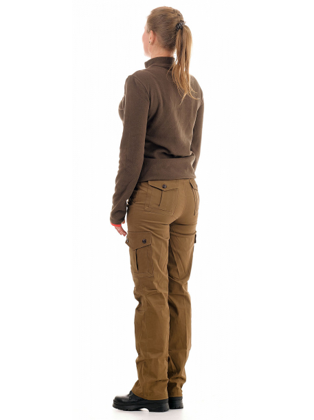 Нато женские брюки (хлопок стрейч, койот)