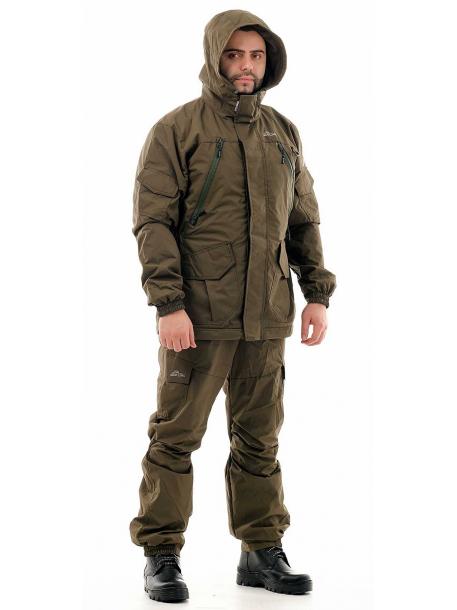 Скат Осень костюм (таслан, тем.хаки) однотонный