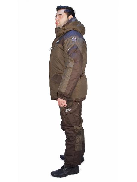 Скат зима костюм (таслан, хаки) (фольга)