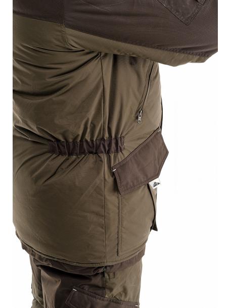 Скат зима NEW костюм (таслан, хаки) (комбинезон)