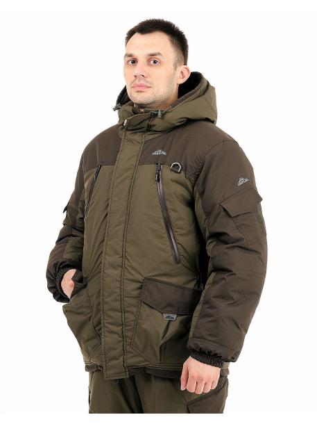 Скат зима NEW куртка (таслан, хаки)