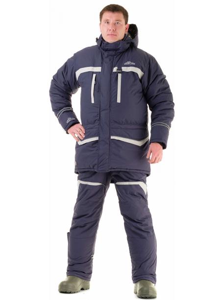 Соболь костюм (таслан, синий)